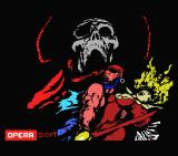 Corsarios MSX Loading screen for part 1