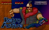Rodge Rock In Retroactive DOS Title Screen