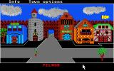 Phantasie Atari ST Inside the town Pelnor