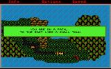 Phantasie Atari ST Outside the town - the map view
