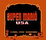 Super Mario Bros. 2 NES Title screen (Japanese version)