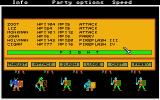 Phantasie Atari ST Combat options