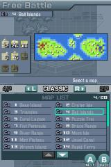Advance Wars: Days of Ruin Nintendo DS Days of Ruin features 100 maps to play on.