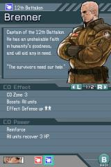 Advance Wars: Days of Ruin Nintendo DS You can look up info on the Commanding Officers involved in each mission.