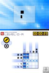 Picross DS Nintendo DS A basic 5x5 puzzle.
