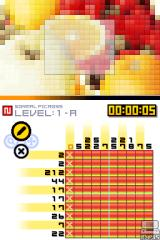 Picross DS Nintendo DS More advanced puzzles involve larger grids.