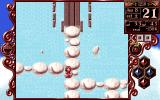 Princess Maker 2 PC-98 Trying not to fall into water...