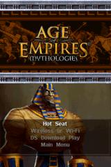 Age of Empires: Mythologies Nintendo DS Options for multiple players