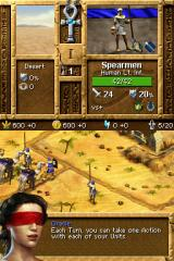 Age of Empires: Mythologies Nintendo DS You'll receive tutorials throughout the campaign to teach you how to play.