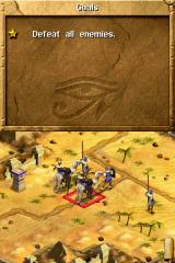 Age of Empires: Mythologies Nintendo DS Fulfill the objectives to win each scenario.