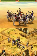 Age of Empires: Mythologies Nintendo DS A bloody battle ensues.
