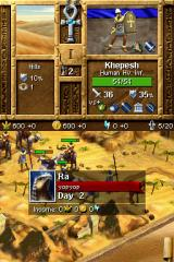 Age of Empires: Mythologies Nintendo DS Each turn is one day of game time.