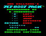 Jet-Boot Jack Electron Loading screen with Keyboard selected