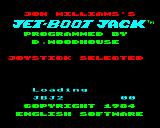 Jet-Boot Jack Electron Loading screen with Joystick selected