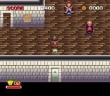 Zig Zag Cat: Dachō Club mo Oosawagi da SNES The between level Inn