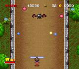 Zig Zag Cat: Dachō Club mo Oosawagi da SNES Early black octopi aren't easy to knock out...