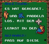Die Maus: Verrückte Olympiade Game Boy Color Instruction screen
