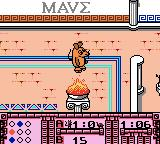 Die Maus: Verrückte Olympiade Game Boy Color In this discipline, we play against the elephant and need to lit fires