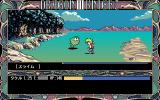 Knights of Xentar PC-98 Like the English PC DOS version - and unlike the TurboGrafx CD version - the PC-98 version has semi-automatic battles with a side view