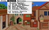 Phantasie III: The Wrath of Nikademus Atari ST Player options at the guild
