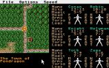 Phantasie III: The Wrath of Nikademus Atari ST The traveling map