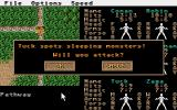 Phantasie III: The Wrath of Nikademus Atari ST Attacking sleeping monsters? Yes!