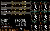 Phantasie III: The Wrath of Nikademus Atari ST Battle options
