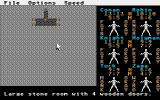 Phantasie III: The Wrath of Nikademus Atari ST Inside a dungeon