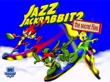 Jazz Jackrabbit 2: The Secret Files Windows Title Screen