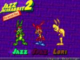Jazz Jackrabbit 2: The Secret Files Windows Character Selection Screen