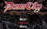 Demon City PC-98 Title screen