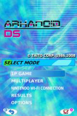 Arkanoid DS Nintendo DS Play single player or against a friend.