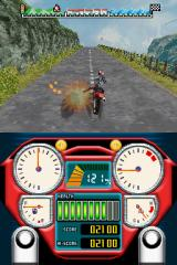 Alex Rider: Stormbreaker Nintendo DS Enemies will chase you, and you have to kick them off their bikes to survive.