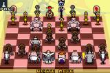 Dexter's Laboratory: Chess Challenge Game Boy Advance A typical chess game