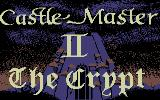 Castle Master + Castle Master II: The Crypt Commodore 64 Title and loading screen