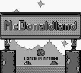 M.C. Kids Game Boy Title screen