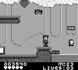 M.C. Kids Game Boy Typical gameplay