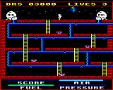 Astro Plumber BBC Micro Screen one