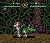 Uchū no Kishi: Tekkaman Blade SNES Tekkaman Axe's tackle attack actually makes him the most dangerous enemy in the game.