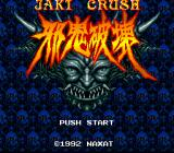 Jaki Crush SNES Title screen