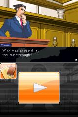 Phoenix Wright: Ace Attorney iPhone Our hero, rookie lawyer Phoenix Wright.