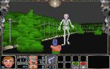 Nitemare-3D DOS The skeletons can shoot fireballs.