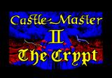 Castle Master + Castle Master II: The Crypt Amstrad CPC Title and loading screen