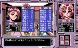 Diver's PC-98 Viewing the girl's parameters