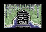 Rampart Commodore 64 Title screen and credits