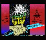R.A.M. MSX Loading screen