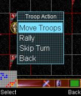 Star Wars: Battle for the Republic J2ME Troop actions