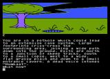 Red Moon Atari 8-bit I went to a pothole.