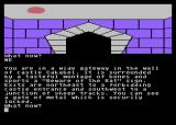 Red Moon Atari 8-bit At the castle gate.