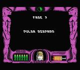 La Espada Sagrada MSX Fase 3: Pulsa disparo (Phase 3: Press fire)